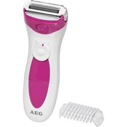 AEG LBS 5676 Epilierer Pink, Weiß