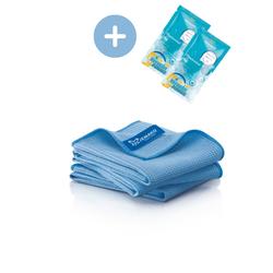 JEMAKO® Trockentuch S klein (40 x 45 cm) blau - 3er-Pack