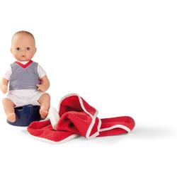 GÖTZ Babypuppe Badepuppe Aquini, Navy,Junge, 33 cm
