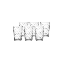 Ritzenhoff & Breker Kinderbecher KIKO Kinderbecher Glas 205 ml 6er Set, Glas