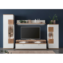 Ideal Möbel Sylt Wohnwand Kombination 04