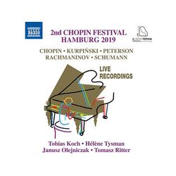 Koch,Tobias/Tysman,Hélène/Olejniczak,Janusz/+ - 2nd Chopin Festival Hamburg 2019 (CD)