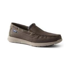 Leichte Komfort-Loafer in Nubuk-Optik für Herren - 47 - Braun