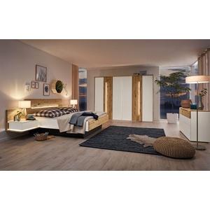 Musterring Schlafzimmer Jovanna in Wildeiche massiv/Lack weiß