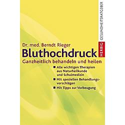 Bluthochdruck. Berndt Rieger  - Buch