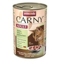 Animonda Carny Adult Huhn, Pute & Kaninchen 6 x 400 g