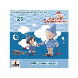 Unser Sandmännchen - 021/Winterwunderland (CD)