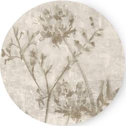 Art for the home Leinwandbild Gepresste Blumen, Blumen