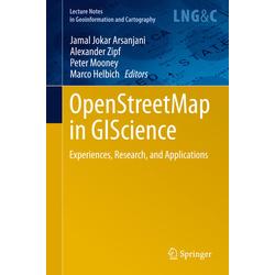 OpenStreetMap in GIScience als Buch von