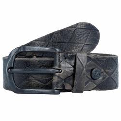b.belt Gürtel Leder grau taupe 95 cm