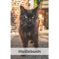 Notizbuch: Katzen Notizbuch