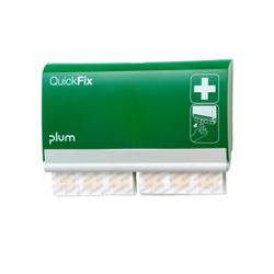 Plum QuickFix Elastic Wandspender, Wandspender für QuickFix Elastic Pflaster, Mit 2 x 45 elastischen Pflastern