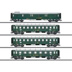 Märklin 42388 H0 4er-Set Oldtimer-Personenwagen der SBB
