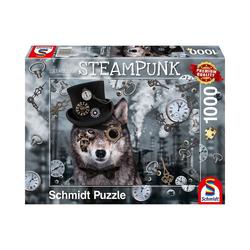 Schmidt Spiele Puzzle Steampunk Wolf, 1.000 Teile, Puzzleteile