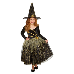 Halloween Girls' Deluxe Shooting Star Witch Costume M (7-8) - Hyde & EEK! Boutique , Size: Medium