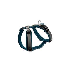 Hunter Hunde-Geschirr Maldon gepolstert, Mesh blau XXS - 34 cm - 49 cm