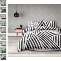 AmeliaHome Averi weiß grau 3tlg Bettwäsche, Baumwolle, Sweet Home Light, 200x220 + 70x902