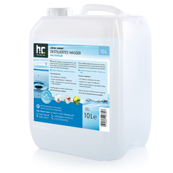4 x 10 Liter Demineralisiertes Wasser(40 Liter)
