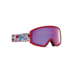 Anon Tracker 2.0 - Skibrille - Kinder Red