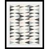 Bild abstrakte Kunst, in 3 Größen, gerahmt 30 cm x 40 cm x 3 cm