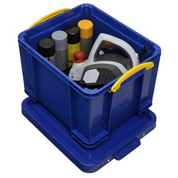 Really Useful Box Aufbewahrungsbox 35,0 l blau 48,0 x 39,0 x 31,0 cm