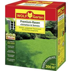 Wolf Garten 3820050 Rasensamen Schatten & Sonne LP 200