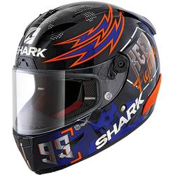 Shark Race-R Pro Replica Lorenzo Catalunya GP 2019 Helmet, black-red-purple, Größe L