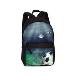 fabrizio® Freizeitrucksack Freizeitrucksack mit Vortasche Fussball