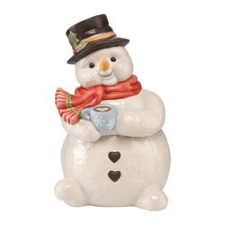 Goebel Zuckerdose Weihnachten Zimt und Zucker Dose 15 cm, Porzellan, (1-tlg)