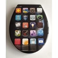 ADOB WC-Sitz Apps, Mit Absenkautomatik
