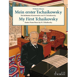 Mein erster Tschaikowsky als Buch von Peter I. Tschaikowski