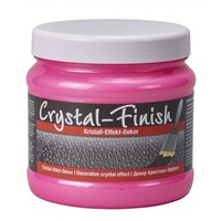 Decotric Crystal Finish 750 ml neon pink