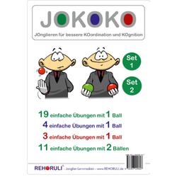 JOKOKO-DIN A5-Karten - SET 1 + Set 2 (DIN A5 Karten)