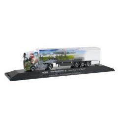Herpa 121583 Scania R 13 TL Schubboden-Sattelzug Godelmann II / Mai Logistik 1:87