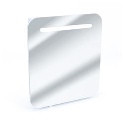 Vicco Badezimmerspiegelschrank LED Spiegelschrank Badspiegel Badschrank Spiegel 60 Weiß Hochglanz