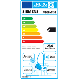 Siemens VSQ8M433 schwarz