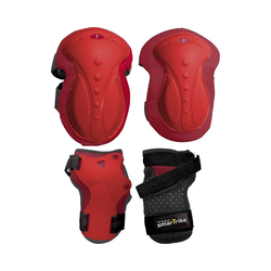 smarTrike® Protektoren-Set Protektoren-Set Gr. XS, pink rot