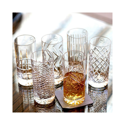 Newport Gläser-Set Kristallgläser JFK Tumbler Highball 6er Set