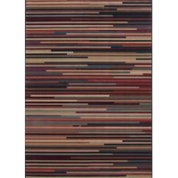 Streifenteppich Gabiro Des.1728 (Multicolor; 200 x 285 cm)
