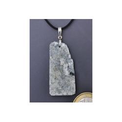 Adelia´s Kettenanhänger Prehnit Anhänger 925 Silber