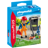 Playmobil Special Plus Straßenreiniger
