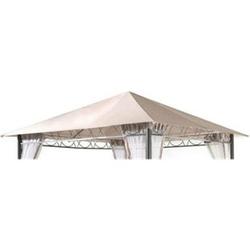 Grasekamp Ersatzdach 3x3m Stil Garten-Pavillon  Sand Ersatzplane Bezug