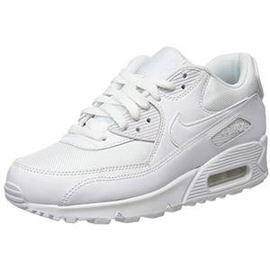 Nike Nike Air Max 90 Essential, Herren Sneakers, Weiß (WHITE/WHITE-WHITE-WHITE), 40 EU