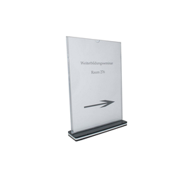 HTI-Line Bilderrahmen Tischaufsteller A4 Hochformat, Aufsteller