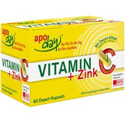 VITAMIN C+ZINK Depot Kapseln 60 St