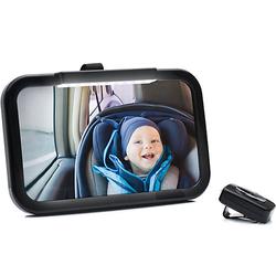 Autospiegel schwarz mit LED