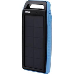 DÖRR SC-15000 bl 15Ah 980551 Solar-Powerbank Ladestrom Solarzelle 220mA Kapazität (mAh, Ah) 15Ah