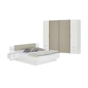 Uno Komplett Schlafzimmer 4 Teilig Mit Beleuchtung Miami ¦ Weiß