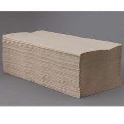 Z-Falz Falthandtuchpapier 1-lagig natur 25x23 cm recycling Falthandtuch