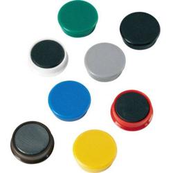 ALCO Kraftmagnet (Ø x H) 38mm x 13.5mm rund Mehrfarbig, Farbauswahl nicht möglich 10 St. 6848V26
